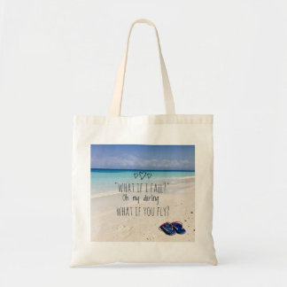 What if i fall? tote bag