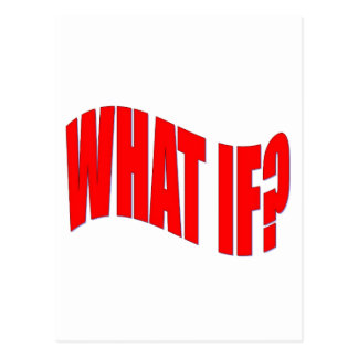 What If? Postcard