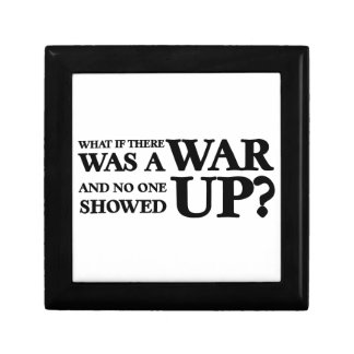 What If There Was a War, and No One Showed Up? Gift Box