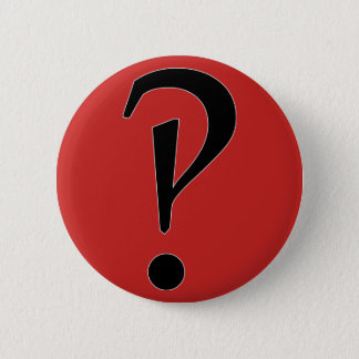 What?! interrobang?! 2 inch round button