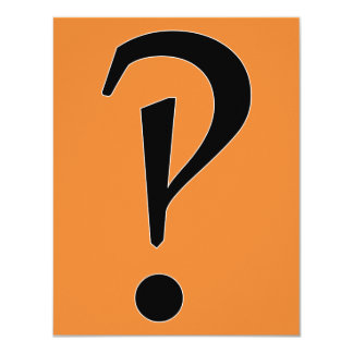 What?! interrobang?! card