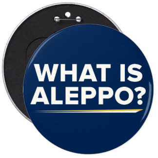 What is Aleppo? Gary Johnson Quote Button