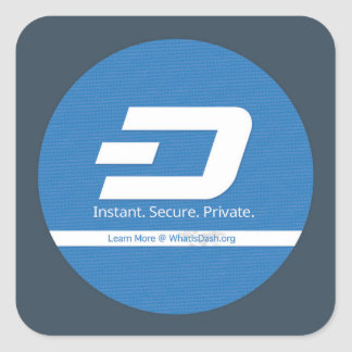What is Dash S1 Square Sticker