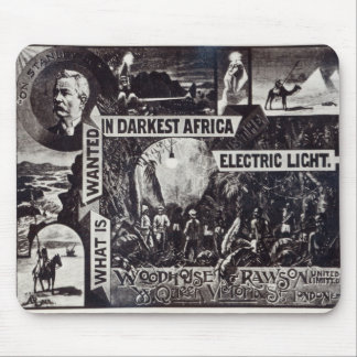 What is Wanted in Darkest Africa is Electric Mouse Pad
