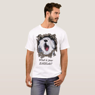 What is your BARKode? T-Shirt