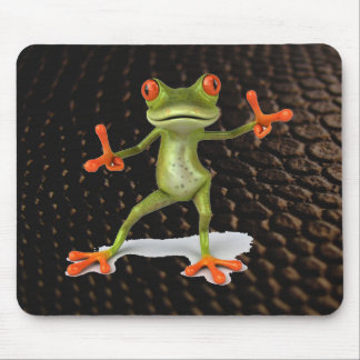 What is your Frog Saying Mouse Pad
