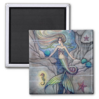 What Lies Beneath Mermaid Magnet