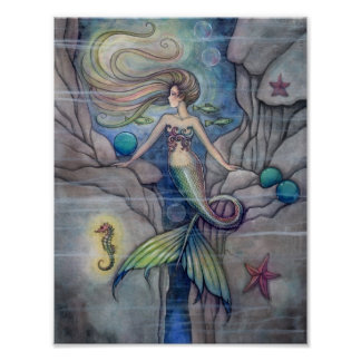 What Lies Beneath  Mermaid Poster