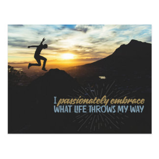 What Life Throws My Way Postcard