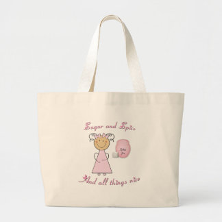 What little girls are made of -- Sugar and Spice Tote Bags