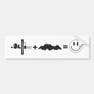 What makes me happy bumper sticker