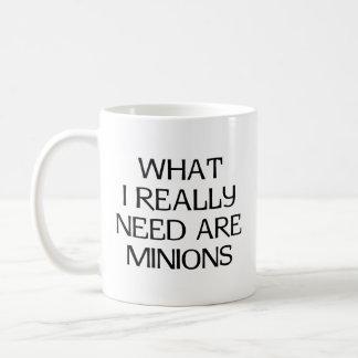 What Minions Basic White Mug
