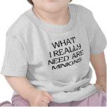 What Minions T-shirts