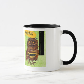 What my #Coffee says to me - Owl Mug Shot
