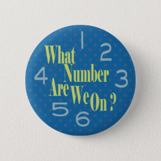 what number are we on blue with numbers 2 inch round button