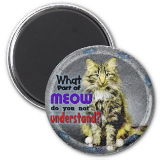 What Part of Meow Magnet