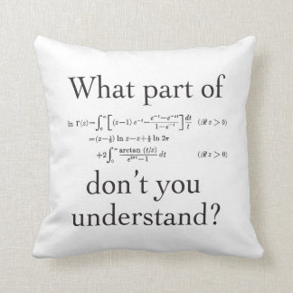 What part of... throw pillow
