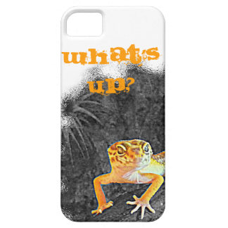 What´s UP? iPhone 5, case, gecko, leopard, iPhone 5 Case
