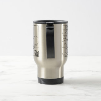 What scientists see travel mug