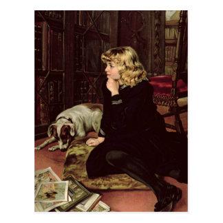 What Shall I Read? Postcard