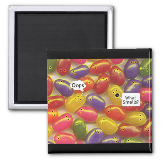 What Smell's? Jelly Beans Magnet