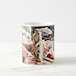 """What""? Spotted Ground Squirrel Coffee Mug/Cup Coffee Mug"