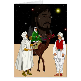 What the 3 kings saw card