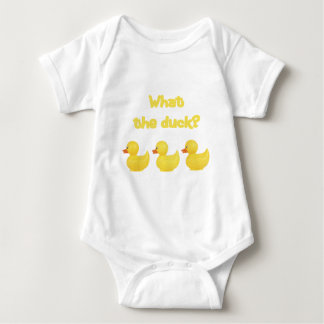 What the Duck? Baby Bodysuit