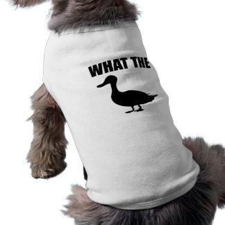 What The Duck Pet T-shirt