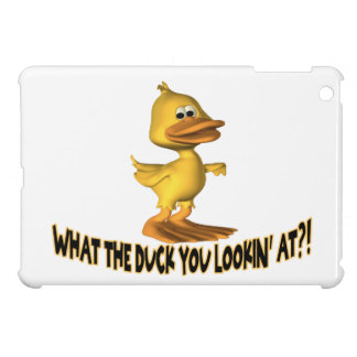 What The Duck You Lookin At Cover For The iPad Mini