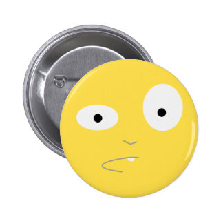 What the Floyd Face 2 Inch Round Button