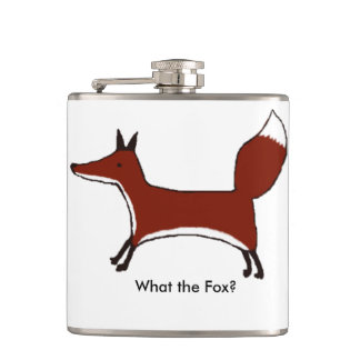 """""""What the Fox?"""" Flask"""