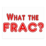 what the frac ? postcards
