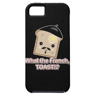 what the french toast cute kawaii toast cartoon iPhone 5 case