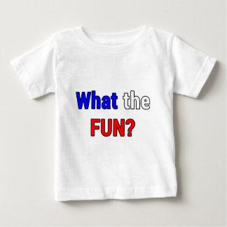 What the Fun Baby T-Shirt