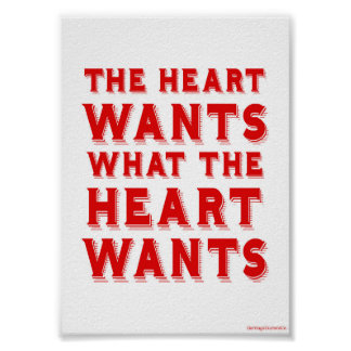 What the Heart Wants Poster