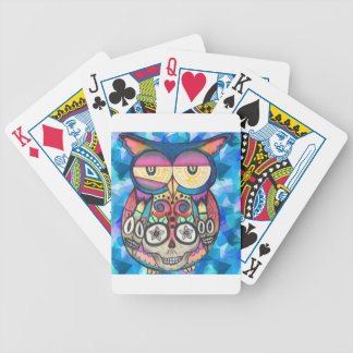 What the hoot? bicycle playing cards