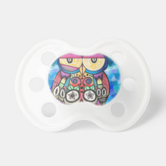 What the hoot? pacifier