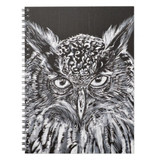 what the owl sees notebook