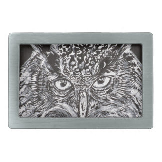 what the owl sees rectangular belt buckles
