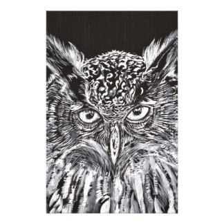 what the owl sees stationery