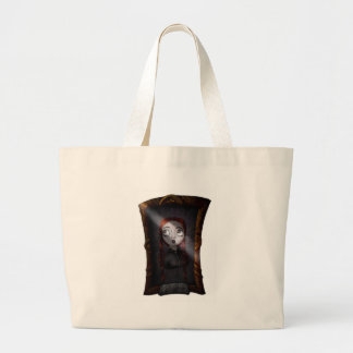 What the Portraits See Large Tote Bag