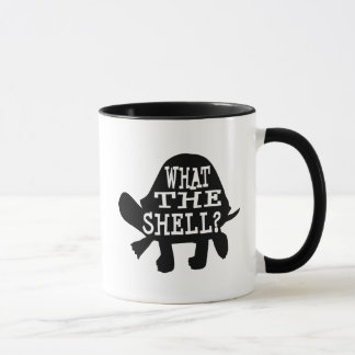 What the Shell Funny Turtle Mug