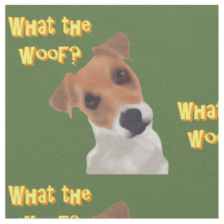 What the Woof? Fabric