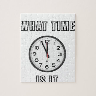 what time is it, clock jigsaw puzzle