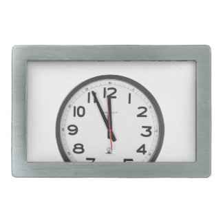 what time is it, clock rectangular belt buckles