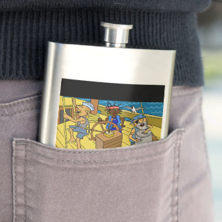 What to give him? Funky flask by DAL