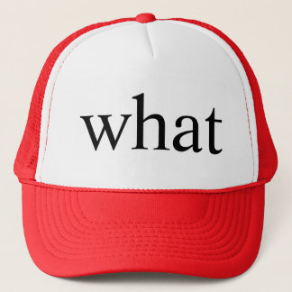 what trucker hat