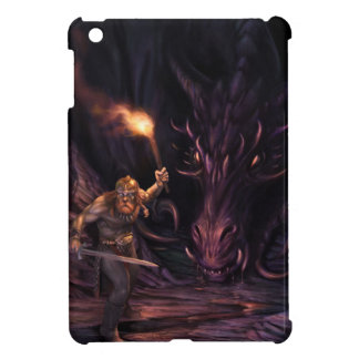 What was that? A Dragon watches a warrior iPad Mini Cover