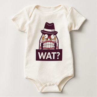 what wat scary teeth design baby bodysuit